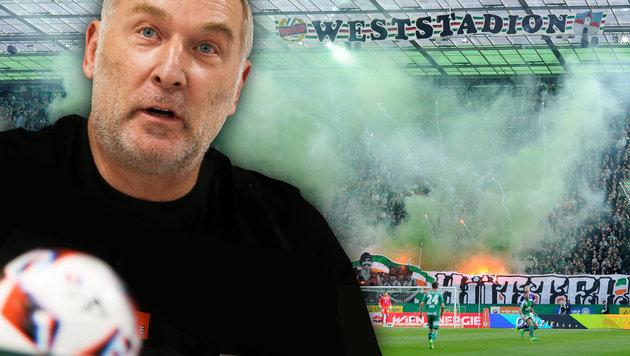 """Müller kontert: """"Das ist stillos von Rapid!"""" (Bild: GEPA, APA/HERBERT P. OCZERET)"""