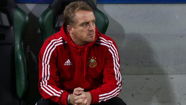 Rapid löst Vertrag mit Ex-Trainer Mike Büskens auf (Bild: GEPA)