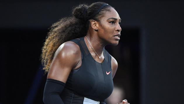 Serena Williams wehrt sich gegen Ilie Nastase (Bild: AFP)