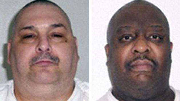 Die hingerichteten Häftlinge Jack Jones und Marcel Williams (Bild: Arkansas Department of Correction)
