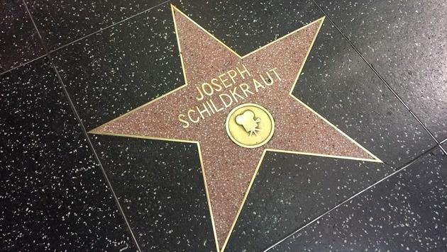 Ein Hollywood-Stern für Star-Koch Wolfgang Puck (Bild: Clara Milena Steiner)