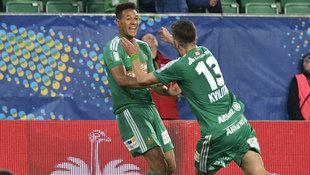 Joelinton schießt SK Rapid in Minute 94 ins Finale (Bild: APA/HANS PUNZ)