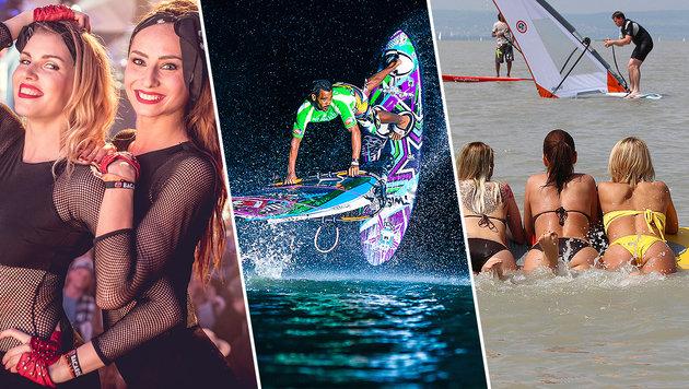 Kombi-Tickets zu gewinnen: Auf zum Surf Worldcup! (Bild: Surf Worldcup)