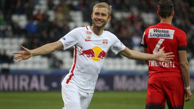 RB Salzburg spaziert über Admira hinweg ins Finale (Bild: GEPA)