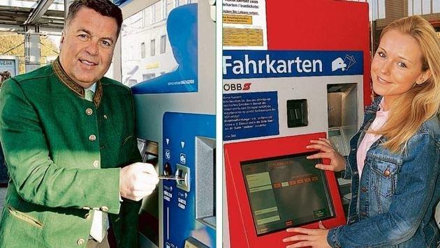 Es ist doch alles  nicht so kompliziert: Ein Automat für Öffi-Fahrer und Kurzparker! (Bild: Wildbild)