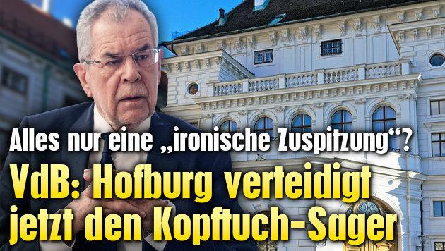 VdB: Hofburg verteidigt jetzt Kopftuch-Sager (Bild: APA/GEORG HOCHMUTH, thinkstockphotos.de)