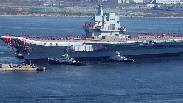 USA bauen in Südkorea moderne Raketenabwehr auf (Bild: AFP)