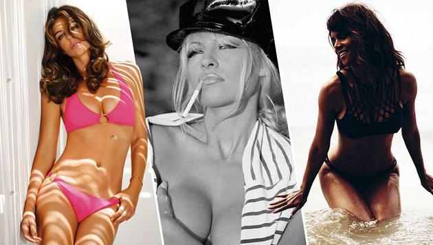 Liz Hurley, Pamela Anderson und Halle Berry (Bild: face to face)