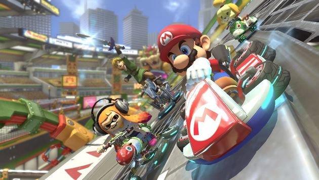 """Fahren Sie mit """"Mario Kart"""" auf die Gamescom! (Bild: Nintendo)"""