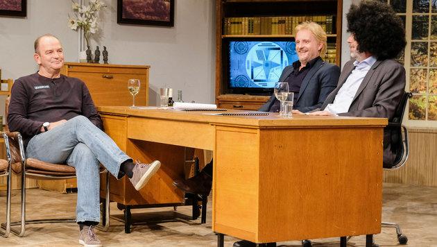 Herbert Prohaska zu Gast bei Stermann und Grissemann (Bild: ORF)
