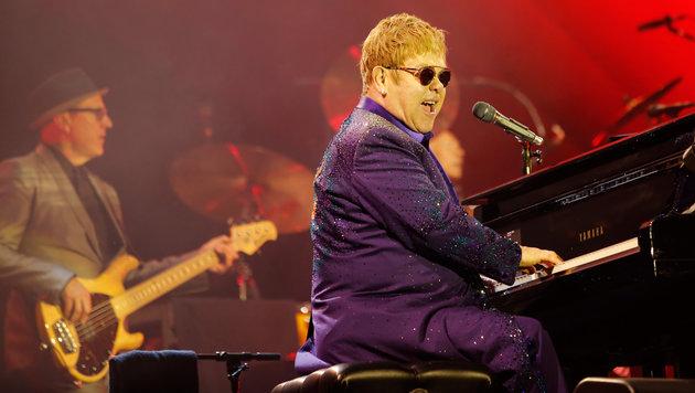 Countdown: Elton John kommt nach Kärnten (Bild: AFP/Gil Cohen-Magen)