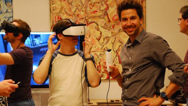 Grazer Start-up startet mit neuer VR-Brille durch (Bild: facebook.com/exchimp)