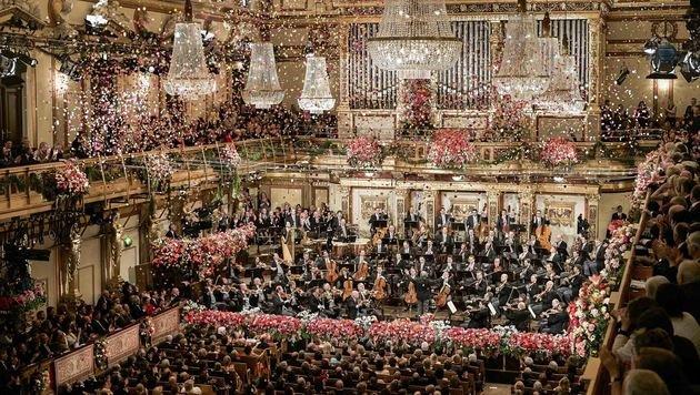 Das jährliche Neujahrskonzert wird in über 90 Länder übertragen. (Bild: ServusTV)