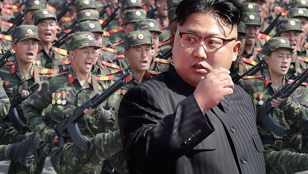 "US-Experte: ""Kims Waffen sind Plastikattrappen"" (Bild: AP/Wong Maye-E, AP)"