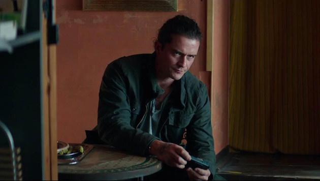 """Orlando Bloom in """"Unlocked"""" (Bild: Viennareport)"""