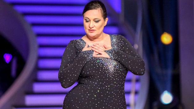 Riem Higazi begeisterte Karina Sarkissova mit ihrer Performance. (Bild: ORF)
