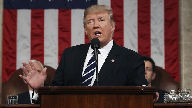 Donald Trump lässt Scheidungsrate steigen (Bild: AP)