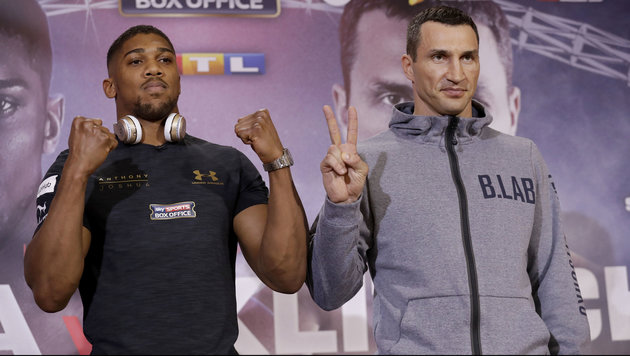 Joshua: So wird er Klitschko k.o. schlagen! (Bild: Copyright 2017 The Associated Press. All rights reserved.)