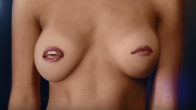 Singende Brüste gegen Nippel-Zensur auf Facebook (Bild: youtube.com)
