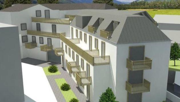 So soll laut Plänen die Residence Max aussehen
