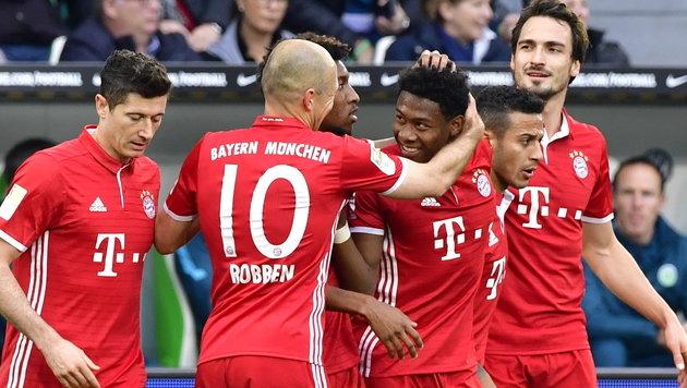 Bayern München ist zum 27. Mal Deutscher Meister! (Bild: AFP)