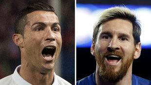 Steigern Sie mit und sehen Sie Ronaldo/Messi live! (Bild: AFP)