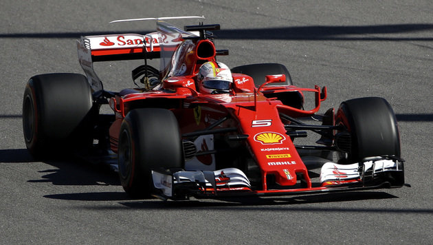 Vettel holt seine 1. Pole seit Singapur 2015! (Bild: Associated Press)