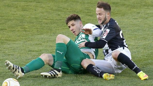 WAC verspielt gegen Mattersburg 2:0-Führung! (Bild: APA/GERT EGGENBERGER)