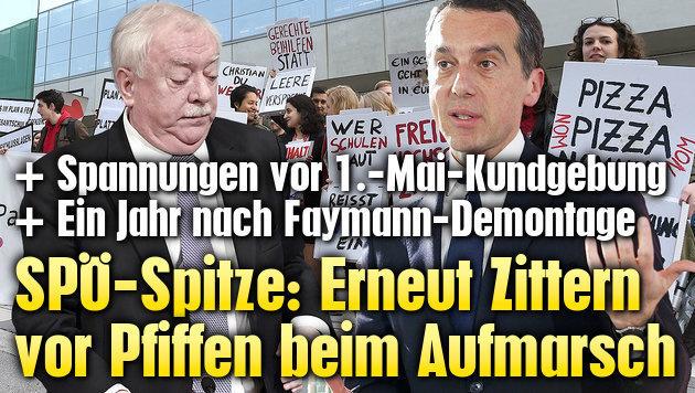 SPÖ-Spitze: Erneut Zittern vor Pfiffen am 1. Mai