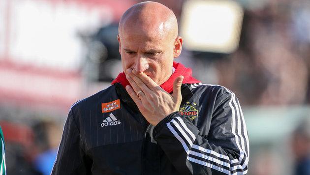 """Abstiegskampf für Rapid-Coach """"kein Thema"""" (Bild: GEPA)"""