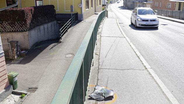 Hier passierte der tragische Unfall. (Bild: Manfred Fesl)