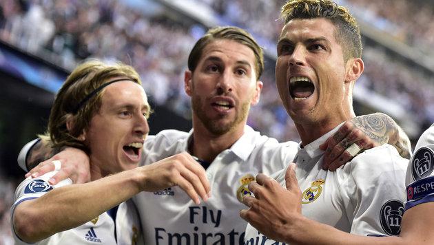 Ronaldo stößt Final-Tür für Real Madrid weit auf! (Bild: AFP)