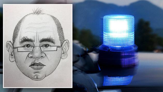 Per Phantombild sucht die Exekutive nach dem falschen Polizisten. (Bild: APA/BARBARA GINDL (Symbolbild), LPD NÖ)