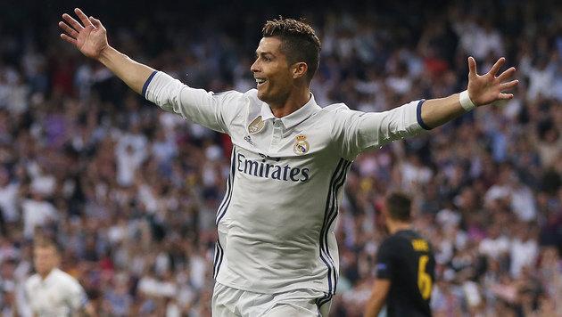 Ronaldo stößt Final-Tür für Real Madrid weit auf! (Bild: Associated Press)