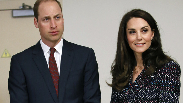 Prinz William und seine Kate (Bild: AFP)