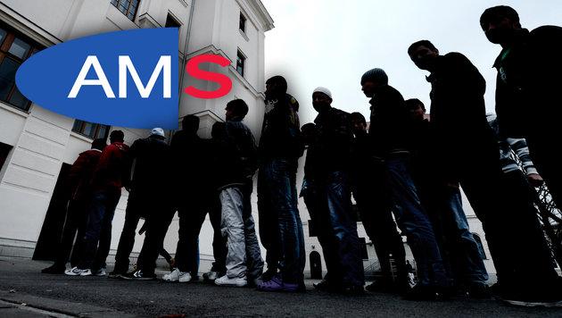 Bereits 28.925 Flüchtlinge sind bei uns arbeitslos (Bild: APA/HANS KLAUS TECHT)