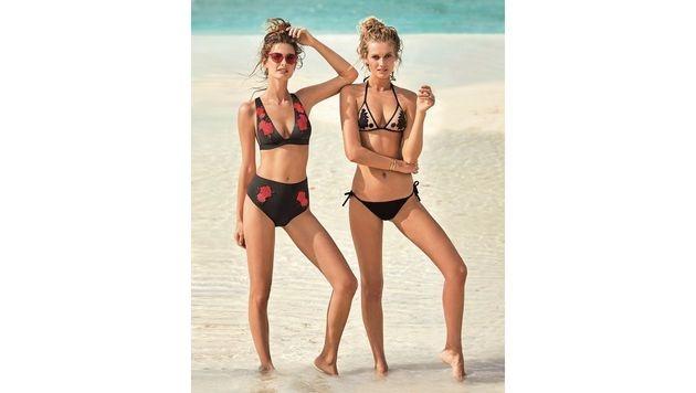 Auch im Bikini darf frau heuer eine gute Figur machen. (Bild: Calzedonia)