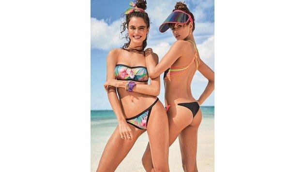 Rutsch rüber, Bikini! Der Badeanzug erobert Bäder (Bild: Calzedonia)
