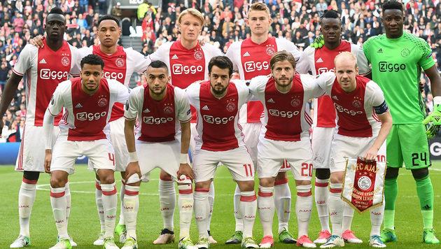 4:1! Ajax stürmt im 1. Halbfinale über Lyon hinweg (Bild: AFP)