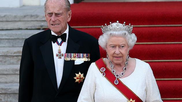 Prinz Philip und Queen Elizabeth (Bild: AFP)