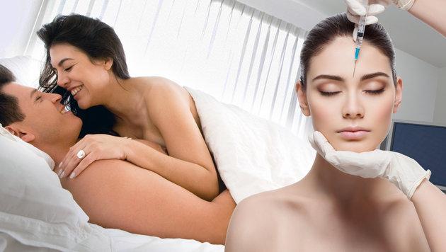 So macht Botox dem Sexleben den Garaus! (Bild: thinkstockphotos.de)