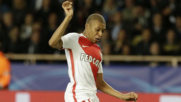 Sturmstar Mbappe: ManU beißt bei Monaco auf Granit (Bild: AP)