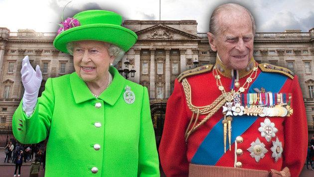 Prinz Philip geht mit 96 Jahren in Pension (Bild: AFP/DANIEL LEAL-OLIVAS, AFP/JUSTIN TALLIS)