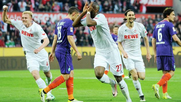 1. FC Köln gewinnt irres Torfestival gegen Werder! (Bild: GEPA)
