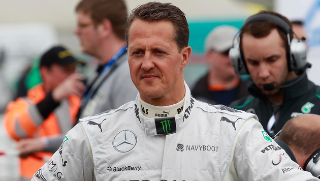 50.000 Euro Entschädigung für Michael Schumacher (Bild: GEPA)