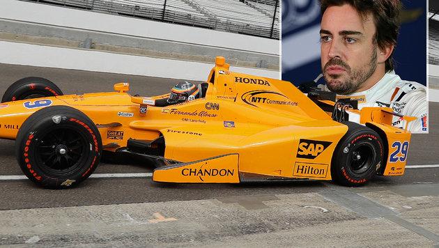 """Alonso: """"Auto fährt mit mir mehr als umgekehrt"""" (Bild: AP)"""