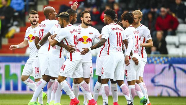 Fixiert Salzburg heute den vierten Titel in Folge? (Bild: GEPA)