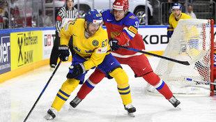 Russland ringt die Schweden zum Auftakt nieder! (Bild: AFP)