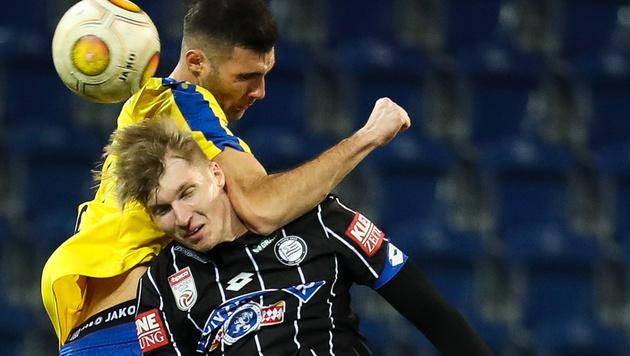 Sturm kämpft gegen St. Pölten um Europacup-Ticket (Bild: GEPA)
