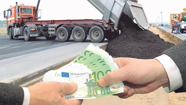 Bei den Preisabsprachen soll es um eine Auftragssumme von bis zu 100 Millionen Euro gehen. (Bild: Kronen Zeitung)